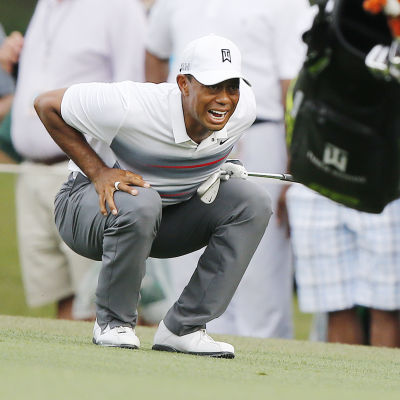 Tiger Woods i Masters 2015.