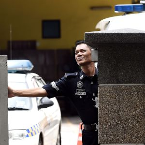 Polisanmals av egna vakterna