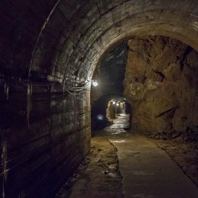 tunnel i Polen som nazisterna byggde