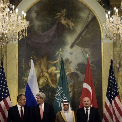 Förhandlingar om Syrien pågår i Wien