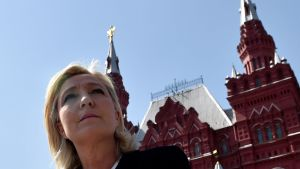 Marine Le Pen i Moskva