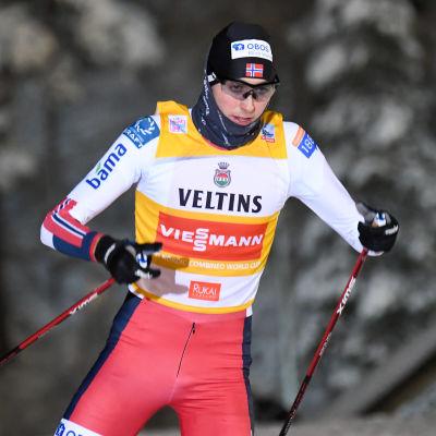 I lördags åkte Jarl Magnus Riiber hem sin andra seger på två dagar.
