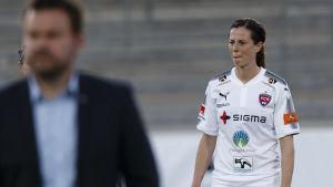 Lotta Schelin återvände till FC Rosengård från Frankrike.