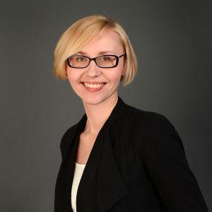 Forskaren Hanna Lindberg porträtt