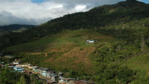Gran Palomarin kahviviljelmät Perun Andeilla