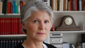 Anna Williams, professor i litteraturvetenskap vid Uppsala universitet.