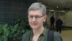 Pensionärsombudsman Mona Lehtonen.