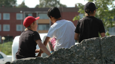 Ungdomar.