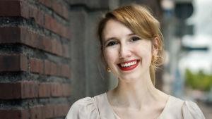 Isabella Holm på sällskapet för mediefostran rf.