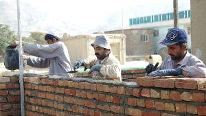 Återuppbyggnad i Kabul, Afghanistan