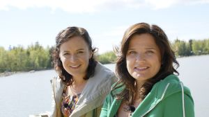 Anne Teir-Siltanen och Camilla Forsén-Ström