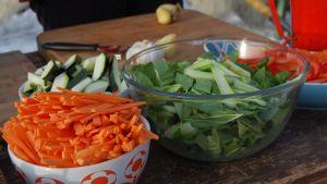 Wok - 90-talets matlagning möter det nordiska kökets ingredienser