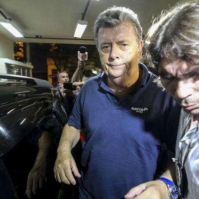 Brasilian MM-kisalippujen trokauksesta epäilty Ray Whelan pidätettiin.