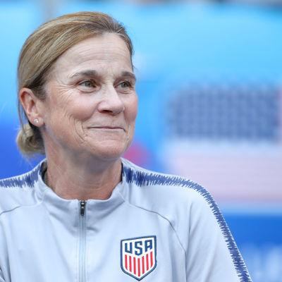 USA:s förbundskapten Jill Ellis.