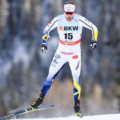 Emil Jönsson i Davosspåret.