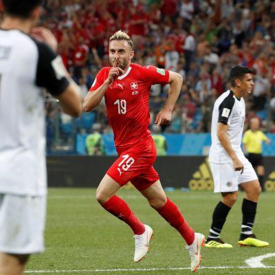 Huippuhetket: Sveitsi ja Costa Rica pelasivat tasan