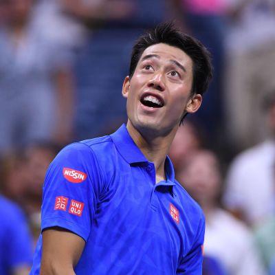 Kei Nishikori, US Open 2016.