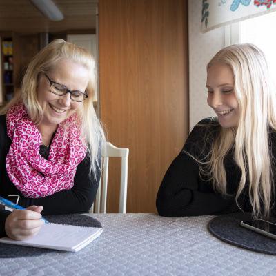 Mia Hautamäki ja Tiia-Maria Hautamäki