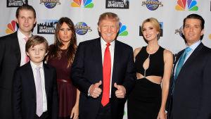 Eric Trump, Barron Trump, Melania Trump, Donald Trump, Ivanka Trump