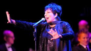 Liza Minnelli på konsertestraden