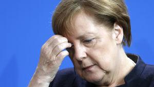 Tysklands regeringschef Angela Merkel