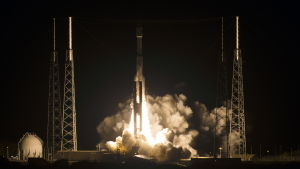 Atlas V -raketen sköts upp från Cape Canaveral i Florida den 12 mars 2015.