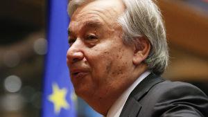 FN:s flyktingkommissarie António Guterres.