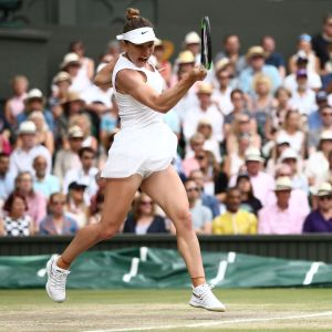 simona Halep besegrade Serena Williams i Wimbledonfinalen.