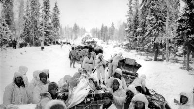 Soldater i vinterkriget, 1940