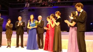 Christel Lee (USA) was given the first prize.