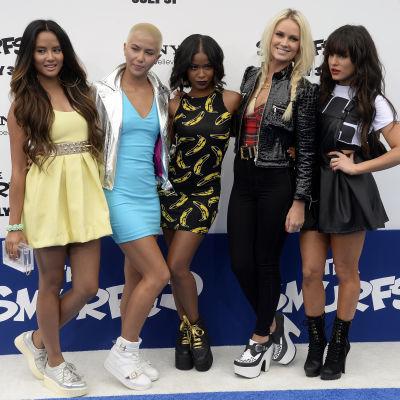 Bild på popgruppen G.R.L.