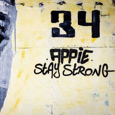 Uppslutningen bakom Appie Nouri har varit stark i Holland, med den här väggmålningen som ett av många exempel.