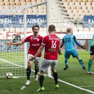 HIFK gör 2-1 på KPV i seriefinalen.
