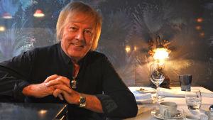 Danny kuvattuna ravintola Rivolissa marraskuussa 2016.