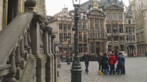 Grand Place i Bryssel