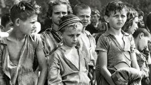 Lapsia elokuvassa Yksin maailmassa