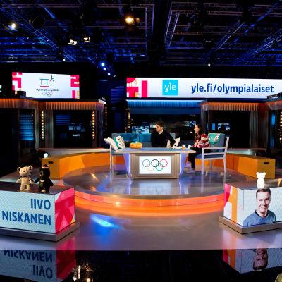 Tv-studion i Böle.