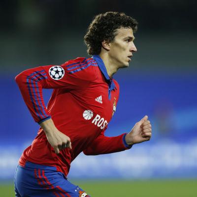 Roman Eremenko, CSKA Moskva, oktober 2015.