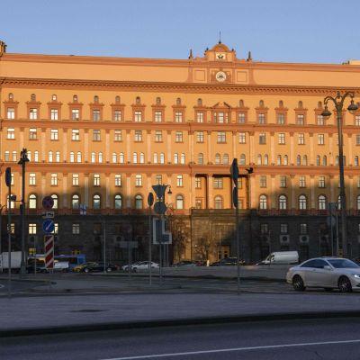 Den ryska säkerhetstjänsten FSB:s högkvarter i Moskva. Bilden tagen den 16 november.
