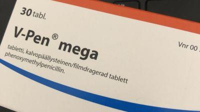 Antibiootti-lääkepakkaus