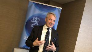 Utrikesminister Pekka Haavisto i Washington D.C.