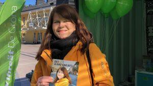 Riksdagsvalskandidat Outi Alanko-Kahiluoto