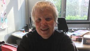 Elisabeth Paefgen på sitt kontor i Berlin.