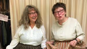 toimittajat Tiina Hihnavaara ja Tiina Harpf