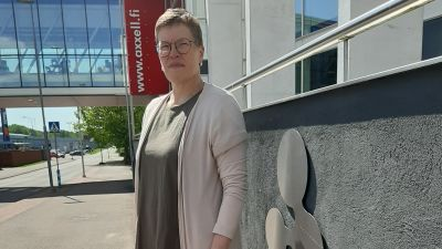 Lena Johansson är rektor för Axxell.