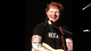 Ed Sheeran med gitarr