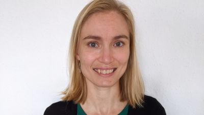 Porträtt på Mia Moisio.
