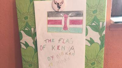 Konst från Kenya.