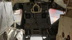 Apollo -aluksen testiohjaamo