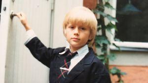 Otto Gabrielsson som litet barn